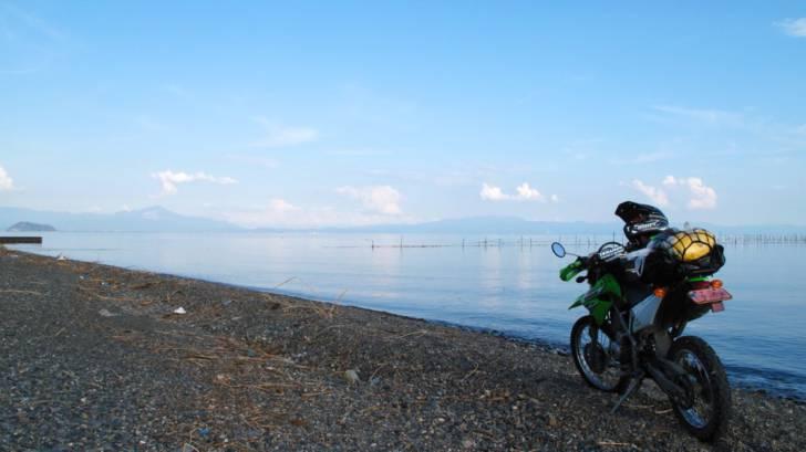 琵琶湖西岸